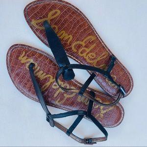 Sam Edelman Women's Sandals Size 9M Black Brown